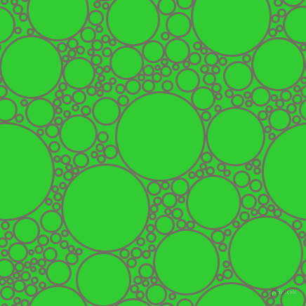 bubbles, circles, sponge, big, medium, small, 3 pixel line width, Flint and Lime Green circles bubbles sponge soap seamless tileable
