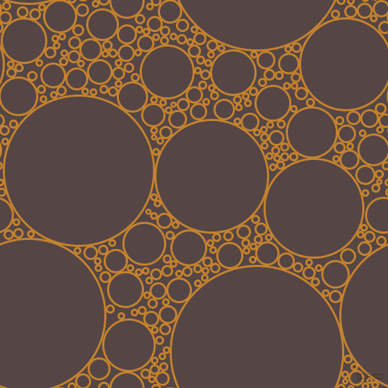 bubbles, circles, sponge, big, medium, small, 3 pixel line width, Geebung and Woody Brown circles bubbles sponge soap seamless tileable