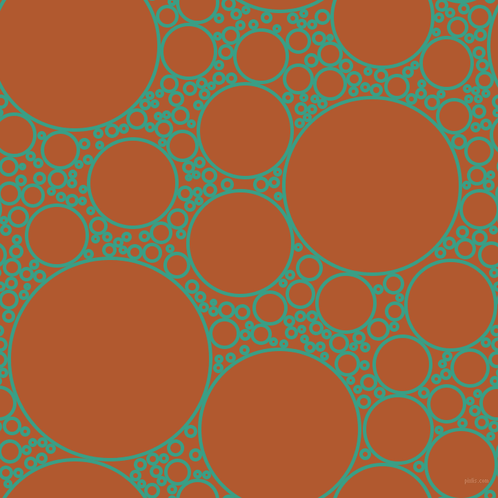 bubbles, circles, sponge, big, medium, small, 5 pixel line width, Gossamer and Fiery Orange circles bubbles sponge soap seamless tileable