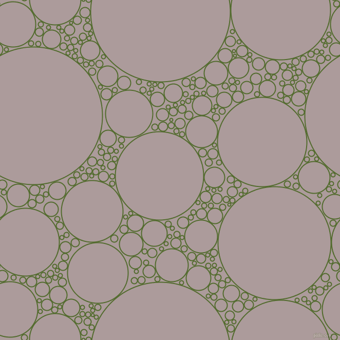 bubbles, circles, sponge, big, medium, small, 2 pixel line width, Green Leaf and Dusty Grey circles bubbles sponge soap seamless tileable