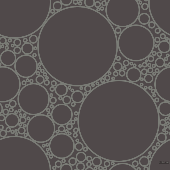 bubbles, circles, sponge, big, medium, small, 5 pixel line width, Gunsmoke and Emperor circles bubbles sponge soap seamless tileable