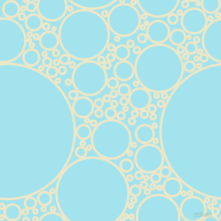 bubbles, circles, sponge, big, medium, small, 5 pixel line width, Half And Half and Blizzard Blue circles bubbles sponge soap seamless tileable