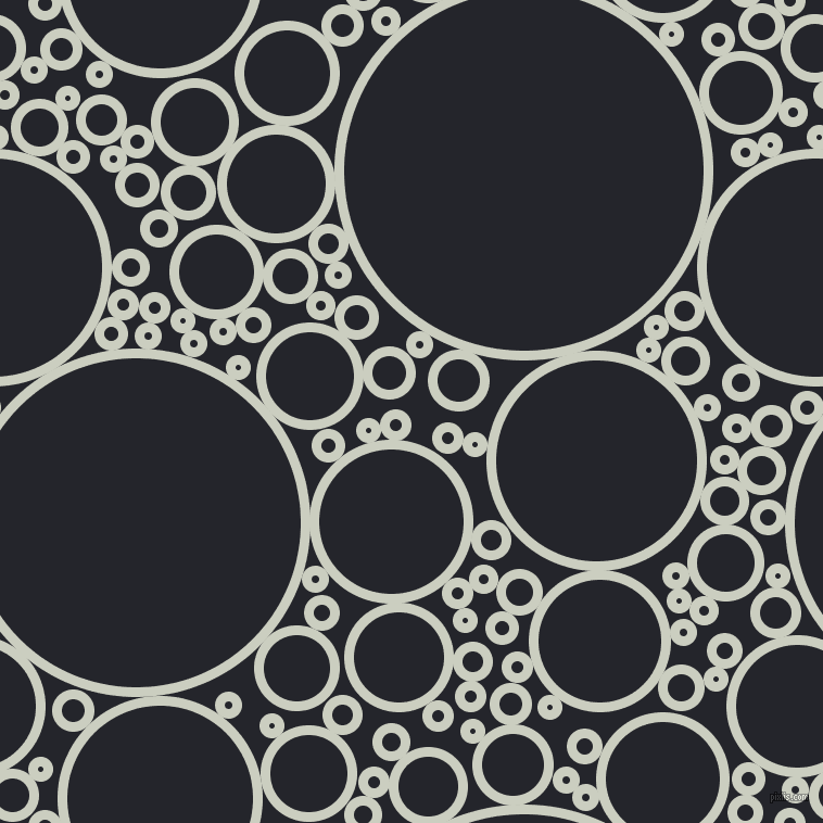 bubbles, circles, sponge, big, medium, small, 9 pixel line width, Harp and Black Russian circles bubbles sponge soap seamless tileable
