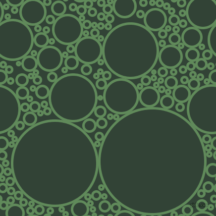 bubbles, circles, sponge, big, medium, small, 5 pixel line width, Hippie Green and Timber Green circles bubbles sponge soap seamless tileable