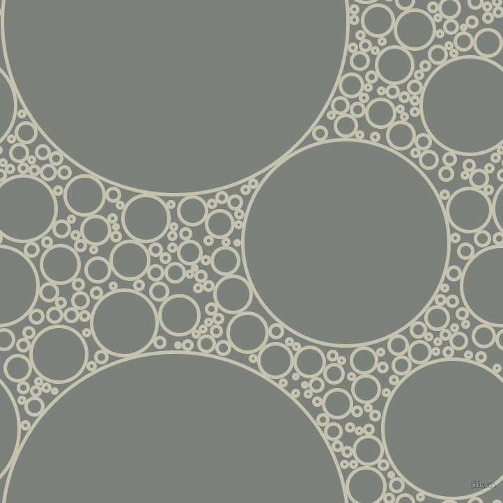 bubbles, circles, sponge, big, medium, small, 5 pixel line width, Kangaroo and Boulder circles bubbles sponge soap seamless tileable