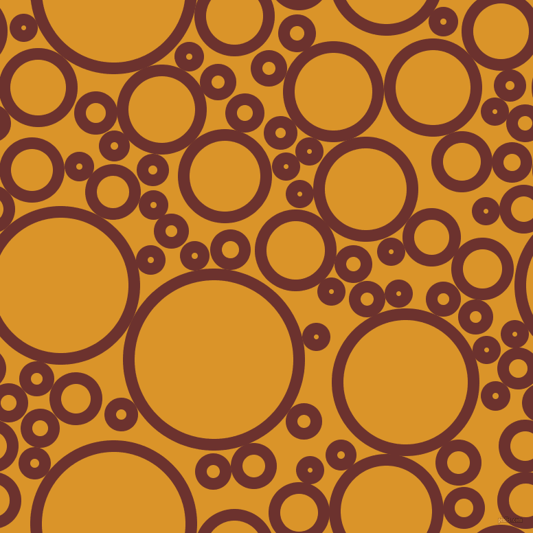 bubbles, circles, sponge, big, medium, small, 17 pixel line width, Kenyan Copper and Buttercup circles bubbles sponge soap seamless tileable