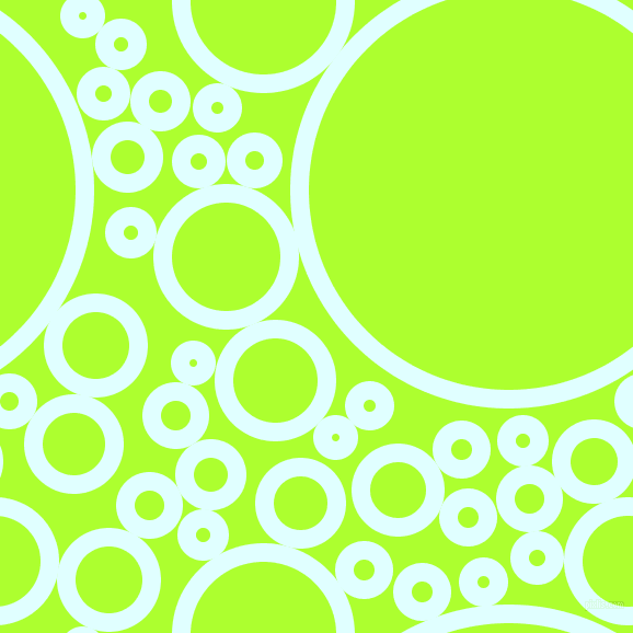 bubbles, circles, sponge, big, medium, small, 17 pixel line width, Light Cyan and Green Yellow circles bubbles sponge soap seamless tileable