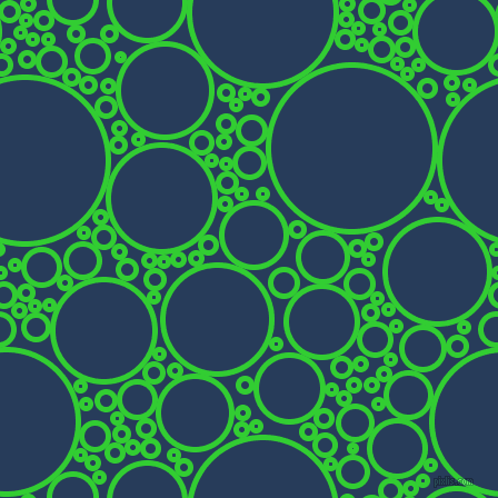 bubbles, circles, sponge, big, medium, small, 5 pixel line width, Lime Green and Catalina Blue circles bubbles sponge soap seamless tileable
