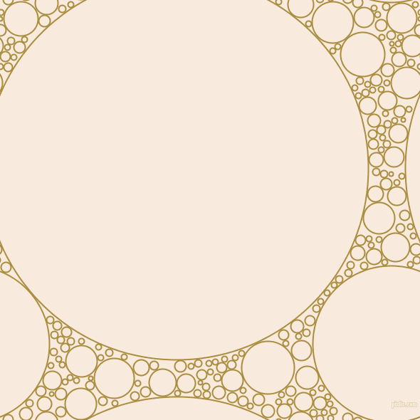 bubbles, circles, sponge, big, medium, small, 2 pixel line width, Luxor Gold and Bridal Heath circles bubbles sponge soap seamless tileable