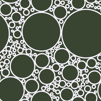 bubbles, circles, sponge, big, medium, small, 5 pixel line width, Magnolia and Mallard circles bubbles sponge soap seamless tileable