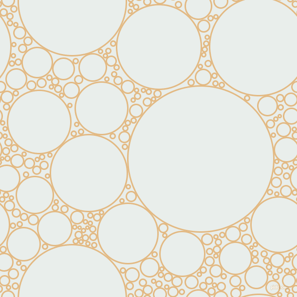 bubbles, circles, sponge, big, medium, small, 3 pixel line width, Maize and Lily White circles bubbles sponge soap seamless tileable