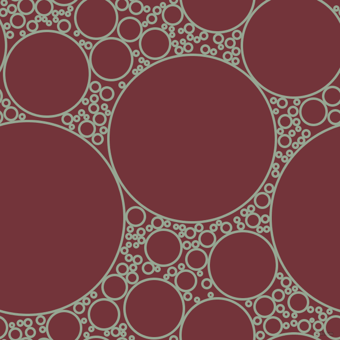 bubbles, circles, sponge, big, medium, small, 5 pixel line width, Mantle and Merlot circles bubbles sponge soap seamless tileable