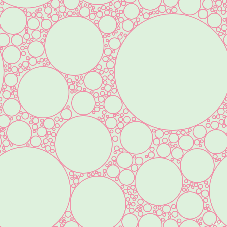 bubbles, circles, sponge, big, medium, small, 3 pixel line width, Mauvelous and Tara circles bubbles sponge soap seamless tileable