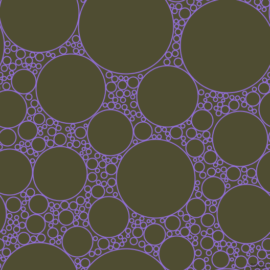 bubbles, circles, sponge, big, medium, small, 2 pixel line width, Medium Purple and Camouflage circles bubbles sponge soap seamless tileable