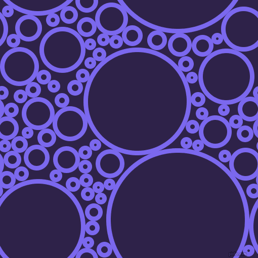 bubbles, circles, sponge, big, medium, small, 9 pixel line width, Medium Slate Blue and Violent Violet circles bubbles sponge soap seamless tileable