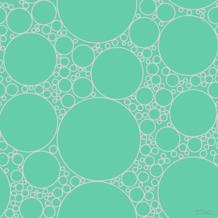 bubbles, circles, sponge, big, medium, small, 2 pixel line width, Mercury and Medium Aquamarine circles bubbles sponge soap seamless tileable