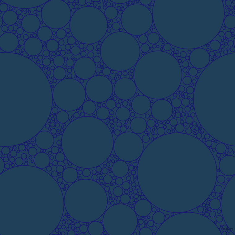 bubbles, circles, sponge, big, medium, small, 2 pixel line width, Midnight Blue and Regal Blue circles bubbles sponge soap seamless tileable
