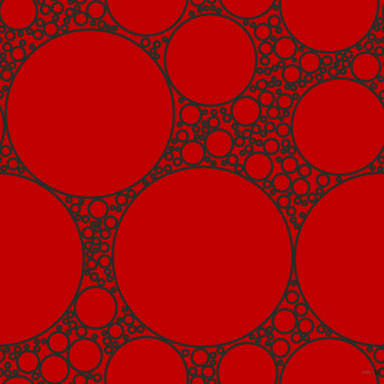 bubbles, circles, sponge, big, medium, small, 5 pixel line width, Midnight Moss and Free Speech Red circles bubbles sponge soap seamless tileable
