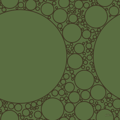 bubbles, circles, sponge, big, medium, small, 3 pixel line width, Mikado and Chalet Green circles bubbles sponge soap seamless tileable