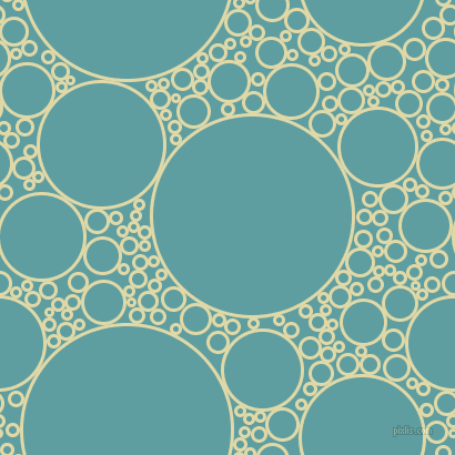 bubbles, circles, sponge, big, medium, small, 3 pixel line width, Mint Julep and Cadet Blue circles bubbles sponge soap seamless tileable