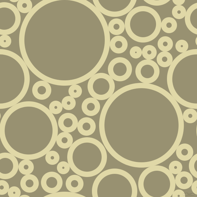 bubbles, circles, sponge, big, medium, small, 17 pixel line width, Mint Julep and Gurkha circles bubbles sponge soap seamless tileable
