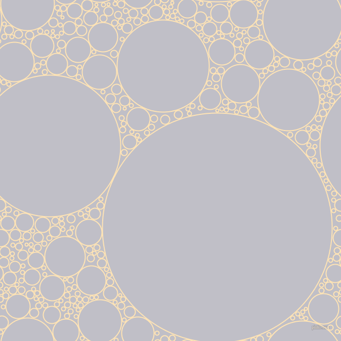 bubbles, circles, sponge, big, medium, small, 2 pixel line width, Moccasin and Ghost circles bubbles sponge soap seamless tileable