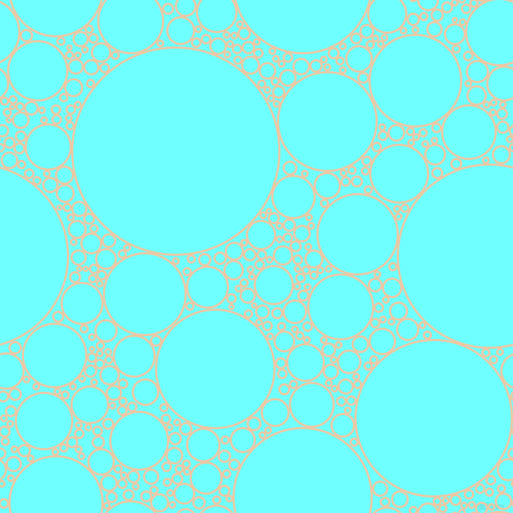 bubbles, circles, sponge, big, medium, small, 3 pixel line width, Negroni and Baby Blue circles bubbles sponge soap seamless tileable