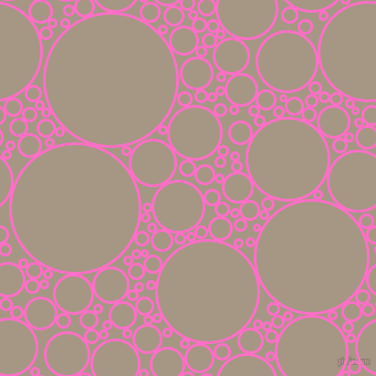 bubbles, circles, sponge, big, medium, small, 3 pixel line width, Neon Pink and Malta circles bubbles sponge soap seamless tileable