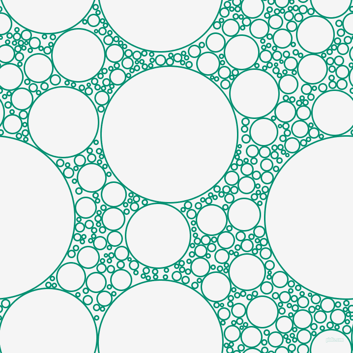 bubbles, circles, sponge, big, medium, small, 3 pixel line width, Observatory and White Smoke circles bubbles sponge soap seamless tileable