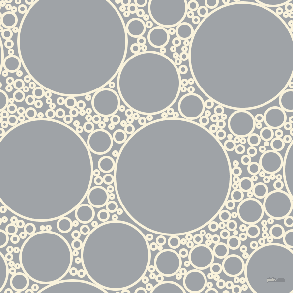 bubbles, circles, sponge, big, medium, small, 5 pixel line width, Off Yellow and Grey Chateau circles bubbles sponge soap seamless tileable