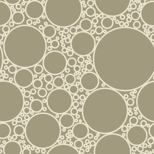 bubbles, circles, sponge, big, medium, small, 5 pixel line width, Orange White and Grey Olive circles bubbles sponge soap seamless tileable