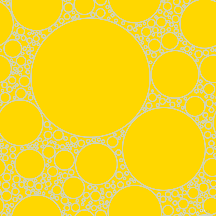 bubbles, circles, sponge, big, medium, small, 5 pixel line width, Orinoco and Gold circles bubbles sponge soap seamless tileable