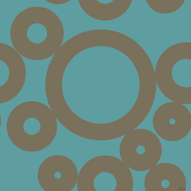 bubbles, circles, sponge, big, medium, small, 65 pixel line width, Pablo and Cadet Blue circles bubbles sponge soap seamless tileable