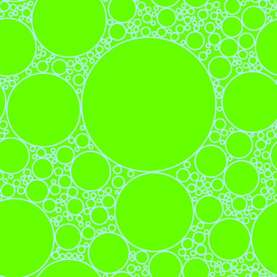 bubbles, circles, sponge, big, medium, small, 3 pixel line width, Pale Turquoise and Bright Green circles bubbles sponge soap seamless tileable