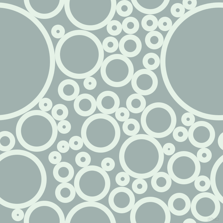 bubbles, circles, sponge, big, medium, small, 17 pixel line width, Polar and Conch circles bubbles sponge soap seamless tileable