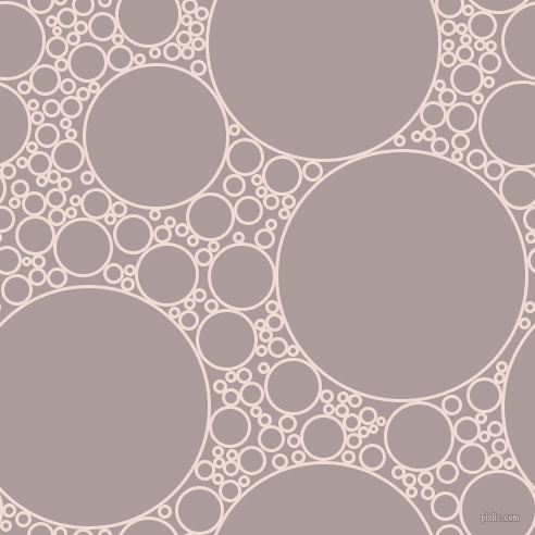bubbles, circles, sponge, big, medium, small, 3 pixel line width, Pot Pourri and Dusty Grey circles bubbles sponge soap seamless tileable