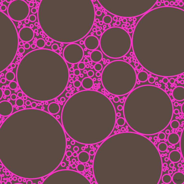 bubbles, circles, sponge, big, medium, small, 5 pixel line width, Razzle Dazzle Rose and Cork circles bubbles sponge soap seamless tileable