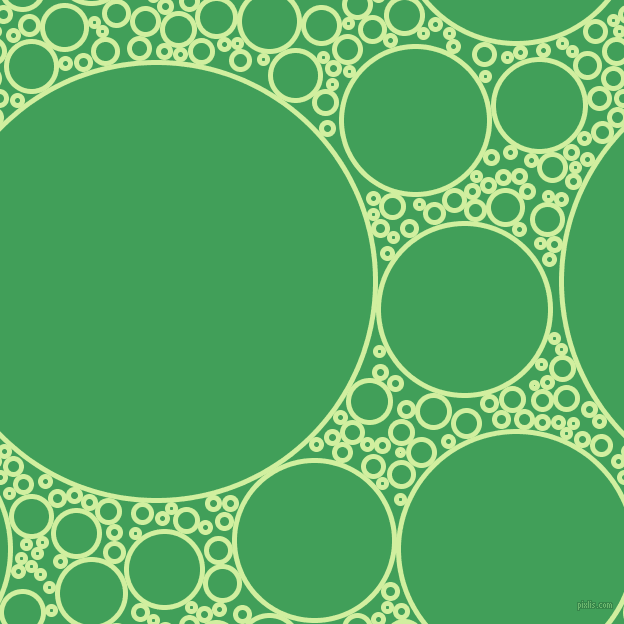 bubbles, circles, sponge, big, medium, small, 5 pixel line width, Reef and Chateau Green circles bubbles sponge soap seamless tileable