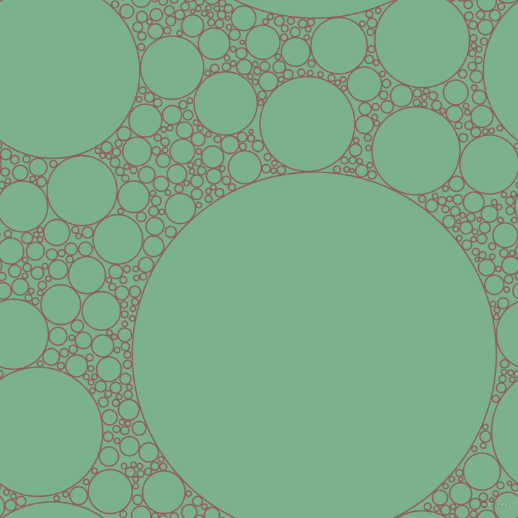 bubbles, circles, sponge, big, medium, small, 2 pixel line widthRose Taupe and Bay Leaf circles bubbles sponge soap seamless tileable