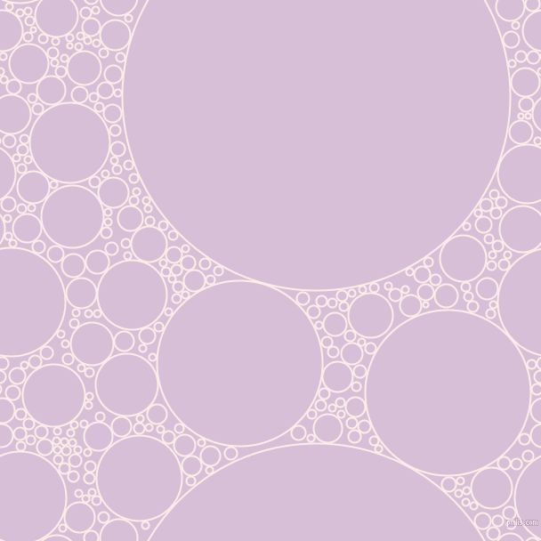 bubbles, circles, sponge, big, medium, small, 2 pixel line width, Rose White and Thistle circles bubbles sponge soap seamless tileable