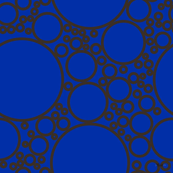bubbles, circles, sponge, big, medium, small, 9 pixel line width, Sambuca and International Klein Blue circles bubbles sponge soap seamless tileable