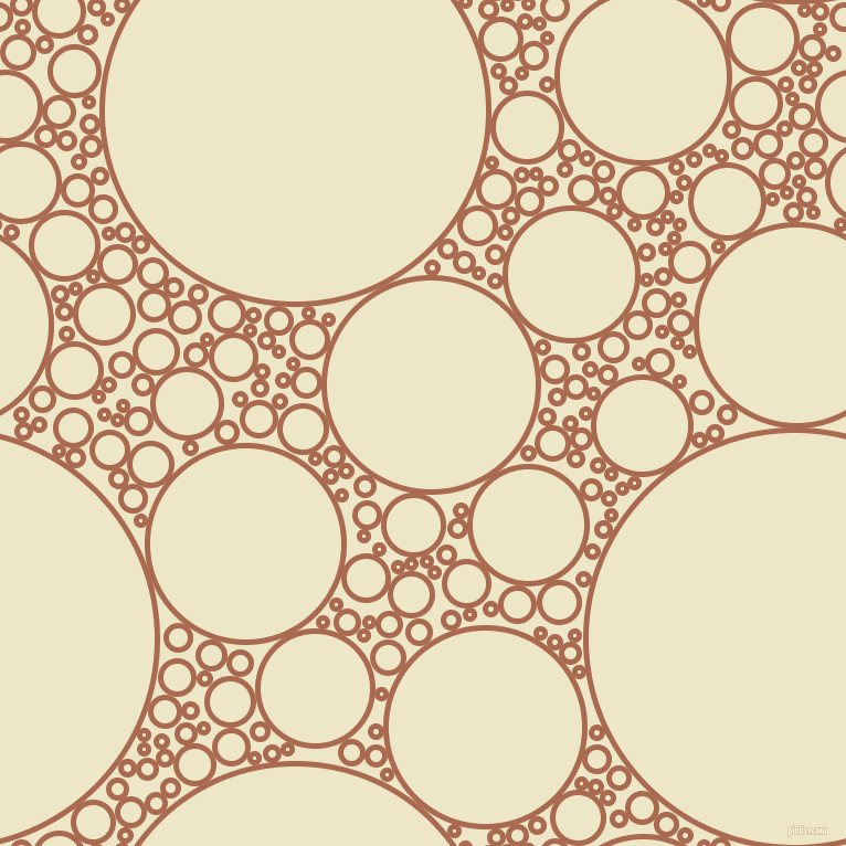 bubbles, circles, sponge, big, medium, small, 5 pixel line width, Sante Fe and Half And Half circles bubbles sponge soap seamless tileable