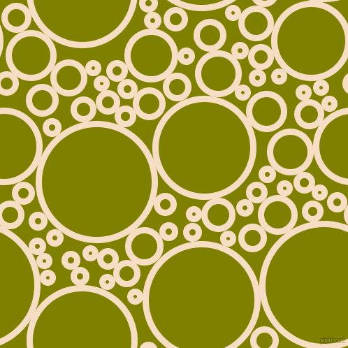 bubbles, circles, sponge, big, medium, small, 9 pixel line width, Sazerac and Olive circles bubbles sponge soap seamless tileable