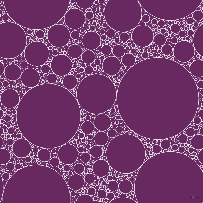 bubbles, circles, sponge, big, medium, small, 2 pixel line width, Selago and Palatinate Purple circles bubbles sponge soap seamless tileable