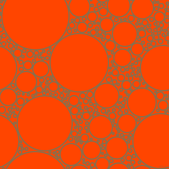 bubbles, circles, sponge, big, medium, small, 5 pixel line width, Shadow and Orange Red circles bubbles sponge soap seamless tileable