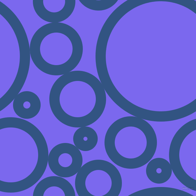 bubbles, circles, sponge, big, medium, small, 33 pixel line width, St Tropaz and Medium Slate Blue circles bubbles sponge soap seamless tileable