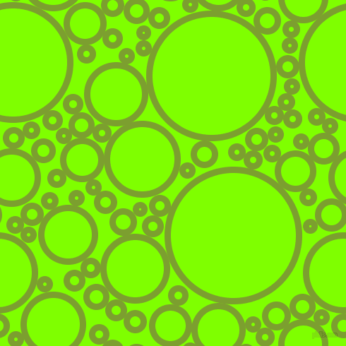 bubbles, circles, sponge, big, medium, small, 9 pixel line width, Sushi and Chartreuse circles bubbles sponge soap seamless tileable