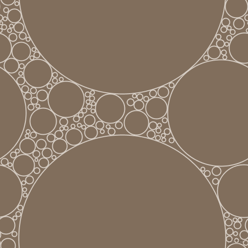 bubbles, circles, sponge, big, medium, small, 2 pixel line width, Swirl and Donkey Brown circles bubbles sponge soap seamless tileable