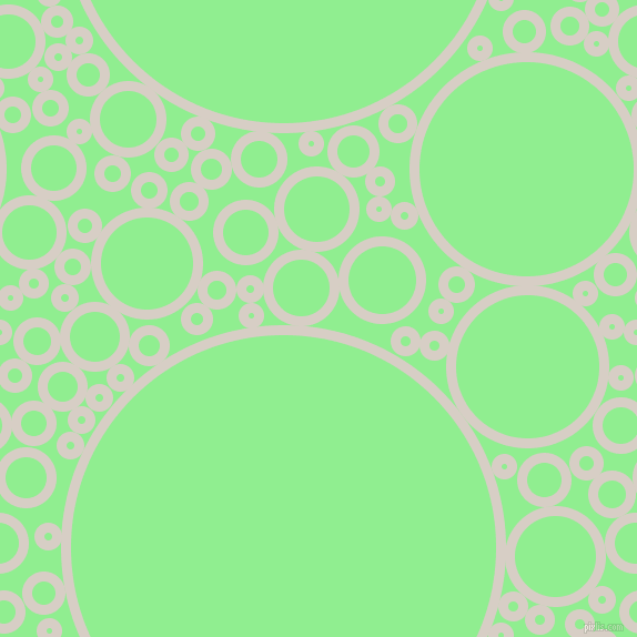 bubbles, circles, sponge, big, medium, small, 9 pixel line width, Swirl and Light Green circles bubbles sponge soap seamless tileable