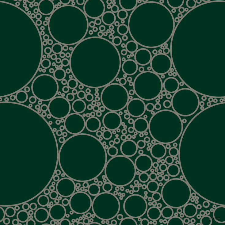 bubbles, circles, sponge, big, medium, small, 5 pixel line width, Tapa and Dark Green circles bubbles sponge soap seamless tileable